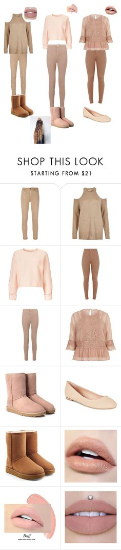 """""""Untitled #19"""" by skinglauren ❤ liked on Polyvore featuring AG Adriano Goldschmied, River Island, Miss Selfridge, UGG and Call it SPRING"""