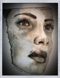 Glossy Print of Pencil Illustration Vogue by LaurenIllustrations, $5.00