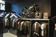 Ducati, where will you show up next? Diesel pop-up store in London.
