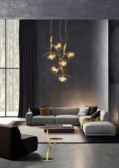 High-end bespoke lighting object ERSA, custom made by Brand van Egmond. Brand van Egmond designs and crafts high-end interior design lighting products for luxury interior designs, high-end hospitality projects, exclusive restaurants, and more. Discover our website for more inspiration.