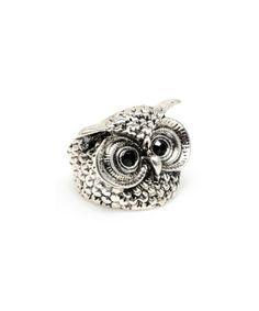 Look what I found on #zulily! Silver Owl Ring by Amrita Singh #zulilyfinds