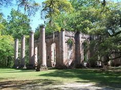 Sheldon Church Ruin in Yamasee…Gorgeous Wedding Location!
