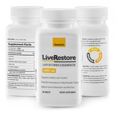 All Natural Liver Cleanse Supplement Detox Restore  Support Healthy Liver Function with a Special Blend of Milk Thistle Extract Lipoic Acid Chinese Skullcap Root  Vitamin E 60 Tablets *** Check this awesome product by going to the link at the image-affiliate link.