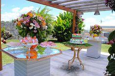 ♪♫ Cerimonial Lilás.Tom ♥ ♫♪: Festa Havaiana nos 15 anos de Elvira Alves