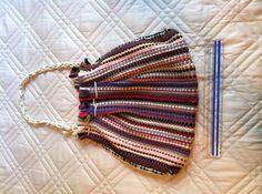 Unique Hand Woven Rag Rug Handbag Purse Carpet Satchel Tote Boho Hippie | eBay