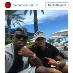 Collins Aigbogun: SPOTTED: What is Manchester United's Memphis Depay doing with Paul Pogba?