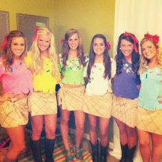 Cool ice cream group costumes