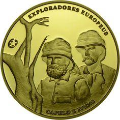 2,50 Euro Gold Europäische Entdecker - Capelo & Ivens PP