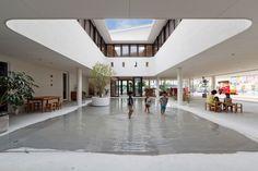 D1 Kindergarten & Nursery by HIBINOSEKKEI & Youji no Shiro | http://www.yellowtrace.com.au/architecture-for-children/