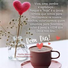 Sweetest Day, Tableware, Tutu, Instagram, Cute Good Morning Messages, Good Morning Tuesday, Chocolate Mouse, God Bless You, Bom Dia