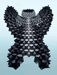 Sandra Backlund, #origami, #fashion, #couture