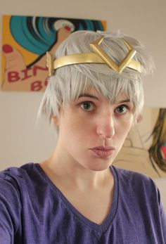 fahrfan:  Fahr's new Kid-Loki crown, made by Karina (Loki on Midgard aka FahrLight facebook page)