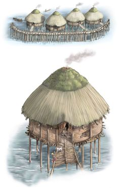 Bronze Age inferno preserved an extraordinary view of life in the United Kingdom 3000 years ago. Newly built houses plunged into river preserving tools, textiles, pots, and more...