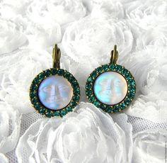 Купить Серьги Лунный танец,Kirks Folly,США,серёжки,красивый подарок,луна - подарок