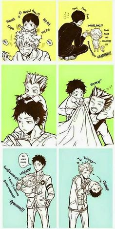 S: Haikyuu!! D: This comic so is cute!!!!!!!: