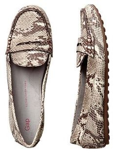 Animal print loafers | Gap