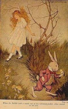 Milo Winter, Alice in Wonderland, 1916. Milo Winter (Princeton, Illinois - August 7, 1888 – August 15, 1956) [1] was a well known book illustrator, who produced works for editions of Aesop's Fables, Arabian Nights, Alice in Wonderland, Gulliver's Travels, Tanglewood Tales (1913) and others. He trained at Chicago's School of the Art Institute.