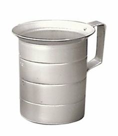 Adcraft ALM-1 1 qt Aluminum Measuring Cup by Adcraft. $3.40. Commercial weight aluminum measure. Graduated for easy reference. Easy pour lip. For bakeware and tabletop.. Save 33%!