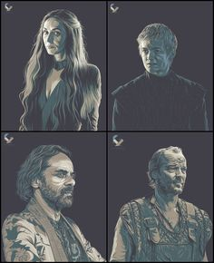 Game of Thrones Series | Jireh Ber Villafuerte - Follow Artist on Behance // Facebook // Twitter // Etsy // Google Plus // Instagram   More Jireh Ber Villafuertes Artworks    More Game of Thrones Related Artworks