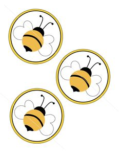 Bumble Bee Party hang tags by willowtree84 on Etsy. $1.50, via Etsy.