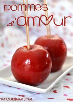 Pommes d'amour - Le-Cuisinier.net
