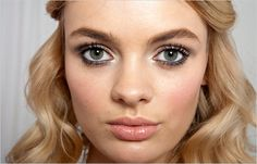 Holiday Skin Deep: A Smoky, Shimmery Makeup for Parties - The New York Times