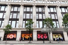 The Apple watch is displayed in the shop windows of Selfridges on August 20, 2015 in London, United Kingdom.