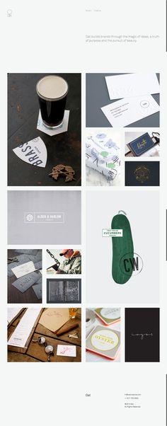 Clean Web Design Layout // #WebDesign http://oatcreative.com/