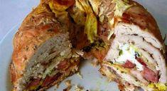 Kuřecí bábovku máte hotovou za hodinku a nakrmíte s ní celý regiment Turkey Recipes, Meat Recipes, Cooking Recipes, Czech Recipes, Ethnic Recipes, Eastern European Recipes, No Salt Recipes, Good Food, Yummy Food