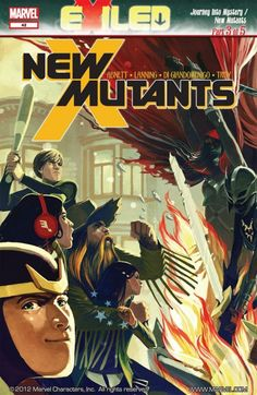New Mutants #42 The story of mutant vs. magic continues! With the Asgardians made into mortals, mutants may be the only chance they have for survival. As forbidden magic rips across San Francisco, the New Mutants stand alone against a pack of undead cannibals!