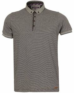 Mens Brave Soul Fashion Casual Button Down Check Collar Fine Stripe Pattern Jersey Polo Shirt Top @ Ror Clothing, http://www.amazon.co.uk/dp/B00K0KB3WY/ref=cm_sw_r_pi_dp_Dymytb1ZJHX1E