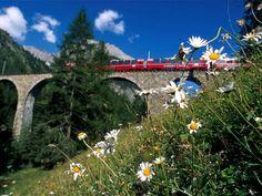 Panoramazüge in der Schweiz erleben | Aktivitäten | Schweiz | Schöne Aussichten