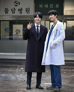 Korean Drama List, Korean Drama Quotes, Cute Korean Boys, Korean Men, Asian Actors, Korean Actors, Korean Dramas, Ahn Hyo Seop, Romantic Doctor