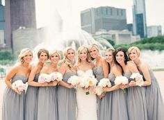 {Bridesmaids Dresses}