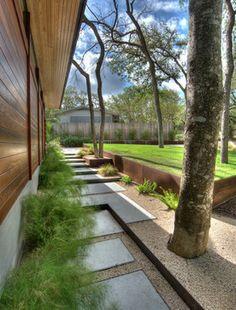 Portfolio - contemporary - landscape - austin - D-CRAIN Design and Construction