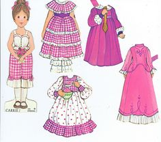 Flickr page with tons of vintage paper dolls