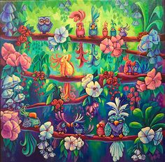 Surrounded The most whimsical and original art, giclee canvas, greeting cards and gifts for everyone. – Denyse Klette