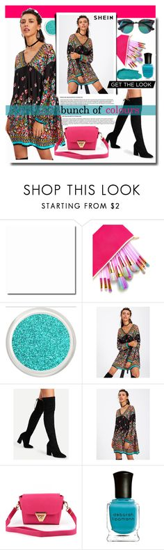 """""""NEW CONTEST"""" by fashiondiary5 ❤ liked on Polyvore featuring Deborah Lippmann and shein"""