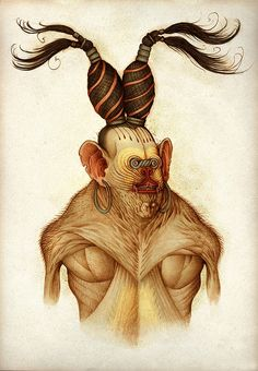 Disturbing Illustrations by Claudio Romo