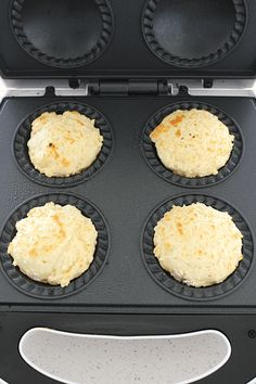 This 3 ingredient lemonade scones recipe is the easiest way to make lemonade scones, but using the pie maker to cook them makes them even quicker and easier. Mini Pie Recipes, Quiche Recipes, Sweet Recipes, Baking Recipes, Dessert Recipes, Desserts, Scone Recipes, Healthy Recipes, Yummy Treats