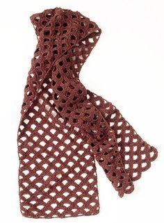 Ravelry: Copper Glow Scarf pattern by Lion Brand Yarn