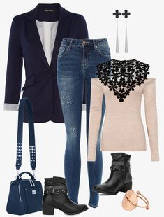 Girl Outfits, Casual Outfits, Cute Outfits, Fashion Outfits, Mode Style, Dressing, Fashion Accessories, Couture, Clothes For Women