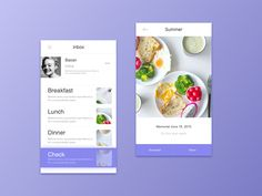 Food App Design by Baoan - Dribbble