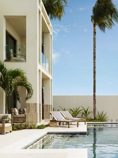Elegant outdoor space at Viceroy Anguilla