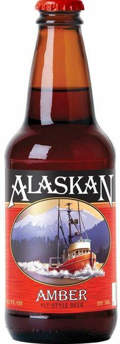 ALASKAN Amber Bier 355 ml / 5 % Alaska