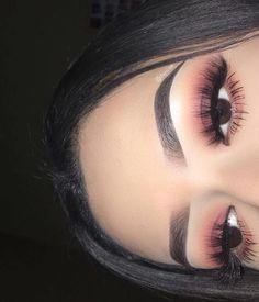 ꒰ 💌 ꒱┊𝚙𝚒𝚗𝚝𝚎𝚛𝚎𝚜𝚝: 𝚑𝚞𝚗𝚗𝚒𝚎𝚋𝚞𝚖 Makeup On Fleek, Makeup Inspo, Cute Makeup, Glam Makeup, Pretty Makeup, Makeup Art, Gorgeous Makeup, Makeup Goals, Skin Makeup
