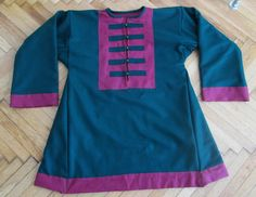 Medieval Viking coat for reenactors  by PracowniaGudrunart on Etsy