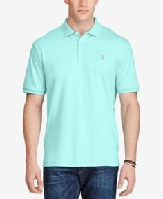 Polo Ralph Lauren Men's Big & Tall Classic-Fit Polo - Blue 2XB