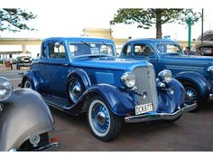 Plymouth Coupe PE Delux (1934)