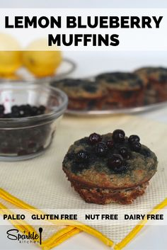 Gluten-free muffins made with coconut flour and NO sugars at all!